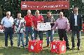 10.000 Euro gingen an vier Fu�ball-Rheinlandligisten