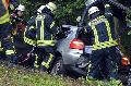 Verkehrsunfall mit einer schwerverletzten Person