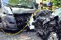 Fahrer erlitt lebensgef�hrliche Verletzung auf B 256