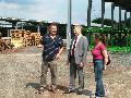 Thorsten Wehner besuchte WWB-Tiefbau in Krunkel
