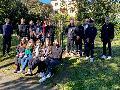 Kopernikus Gymnasium Wissen pflanzt Bäume zu Ehren deutsch-polnischer Schulpartnerschaft