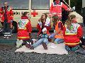 Jugend der Feuerwehr und des JRK zeigten ihr K�nnen