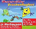 """Spektakuläre Drachen beim 17. """"Westerwälder Drachenflugfest"""""""