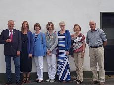 Nachfahren ehemaliger Auswanderer zu Gast in Eichen