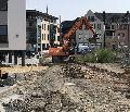 Baustraße für das Montabaurer Verbandsgemeindehaus wird angelegt