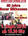 40 Jahre Bazar der katholischen Jugend Elkhausen/Katzwinkel