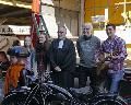 Rund 300 G�ste beim Biker-Gottesdienst in Steinebach