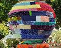 Über 112 Meter gestrickte Corona-Erinnerung