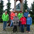 Wetterfeste Bad Marienberger wanderten nach Emmerichenhain