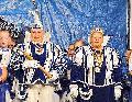 Kirsten und Doris Hanke f�hren die Erbachtaler Karnevalisten an