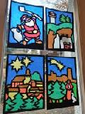 Fensterbilder der Stadt Höhr-Grenzhausen und Ortschaften zu Weihnachten für alle
