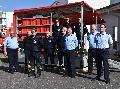 Große Freude bei der Feuerwehr Ransbach-Baumbach: Übergabe eines Hygiene-Anhängers