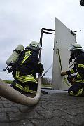Stationsausbildung zum Thema Brandbekämpfung