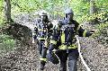 Waldbrand zwischen Eichen und D�ttesfeld