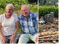Flut-Katastrophe: Betroffene kamen zur Ruhe auf einem Hof im Wisserland
