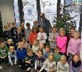 Weihnachtsbaum und Kinder strahlten gleicherma�en