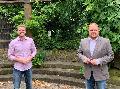 Kirchen: SPD-Bundestagskandidat im Austausch mit neuem VG-Bürgermeister