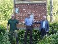 500 Eichen für den Gemeindewald