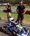Tom Kalender �berzeugte beim ADAC Kart Cup in Kerpen