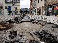 Höhr-Grenzhausen: Sanierung der Mittelrinne in der Innenstadt läuft nach Plan