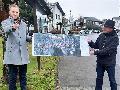CDU-Landtagskandidat Matthias Reuber informierte sich im Flammersfelder Land