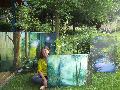 """Ausstellung im Stöffel-Park: """"Mein Atelier ist die Natur"""""""