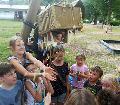 Holz- und Musikwerkstatt am Camping im Eichenwald ging zu Ende