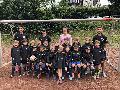 F-Jugend Mannschaft der JSG Wisserland mit neuen Regenjacken ausgestattet