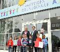 Flammersfelder Grundschule tr�gt jetzt Raiffeisens Namen