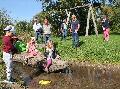 Selters: Freude über große Holzfiguren am Naturspielplatz