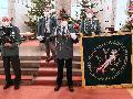 Feierliche Weihe der neuen Bruderschaftsfahne in Gebhardshain