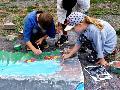 Kinderatelier Petra Moser stellt im Stöffel-Park aus