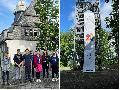 IGS Betzdorf-Kirchen: Staffellauf anlässlich Partnerschafts-Jubiläum