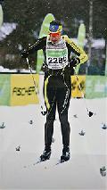 Andr� Schmidt auf Platz 2 beim K�nig-Ludwig-Lauf in Oberammergau