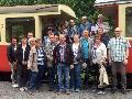 Alte Burschen Hardert - Ausflug mit dem Vulkan Express