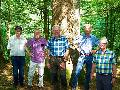 Waldbegehung von B�ndnis 90/Die Gr�nen im Crottorfer Wald