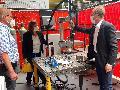 """FDP-Bundestagsabgeordnete zu Besuch bei """"Innovationsmotor"""" für heimische Unternehmen"""