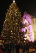 Traditionelles Weihnachtsbaumerleuchten auf dem Bendorfer Wochenmarkt