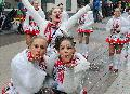 Petrus muss ein Karnevalist sein: Zum Alek�rjer Zug setzte der Regen aus