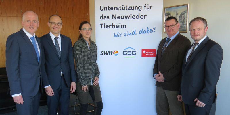 Tierheim: Hilfe von SWN, GSG und Sparkasse kommt wie geplant