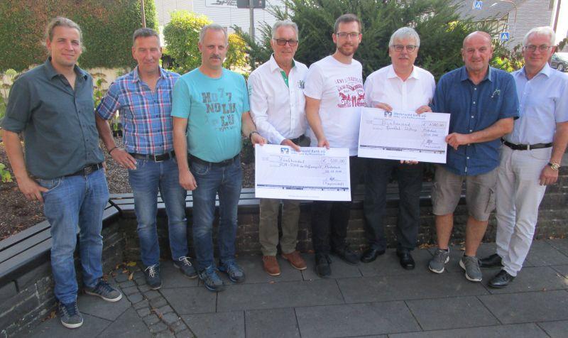 Tippgemeinschaft der VG Puderbach spendet