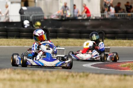 Aktuell führt Tom Kalender den Westdeutschen ADAC Kart Cup, den ADAC Kart Cup und das ADAC Kart Masters an. (Foto: Fast-Media)