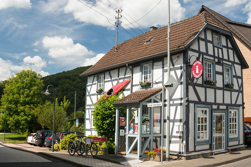 Tourist-Information Waldbreitbach wird umgebaut