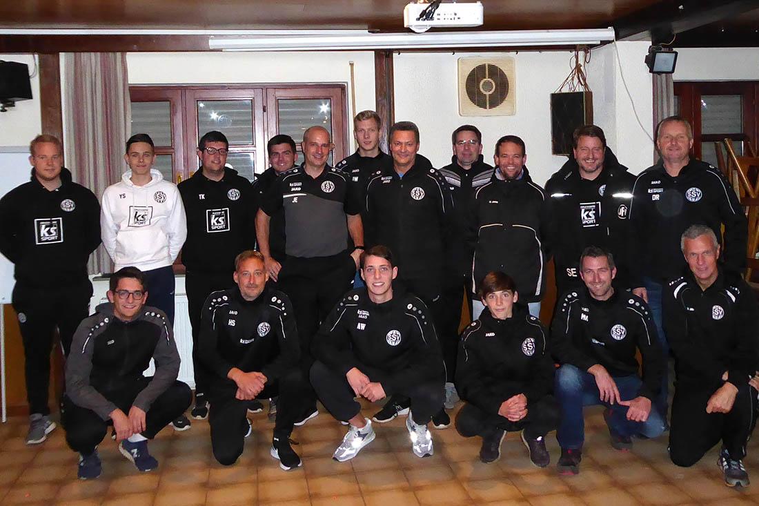 Die Trainer. Foto: Verein