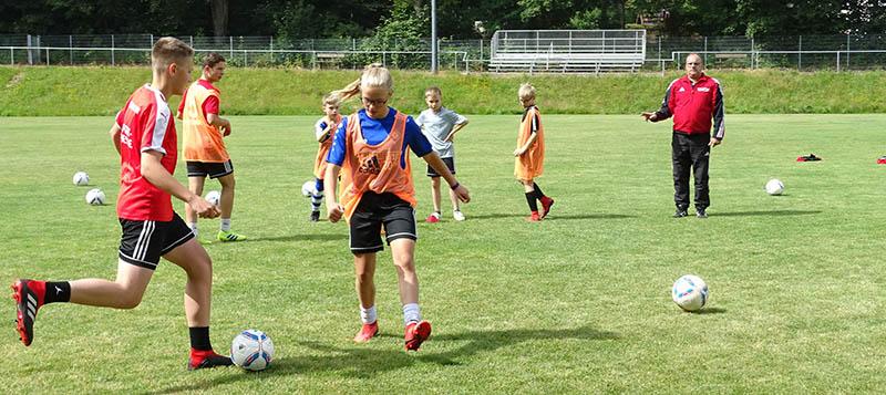 Fußball-Ferien-Camp Fußballkreises Westerwald/Sieg auch 2020