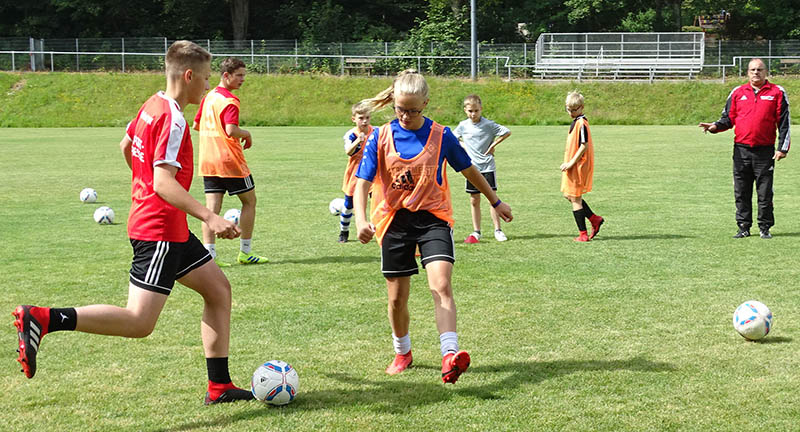 Fußball-Ferien-Camp im Fußballkreis Westerwald/Sieg auch 2020