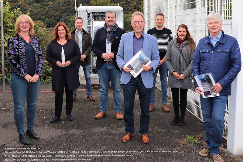 Messstation in Rheinbrohl: Gemeinsam gegen schadhafte Güterzüge