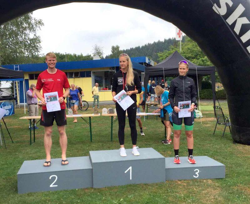 Die MANNschaft beim Kindelsberg Triathlon in Müsen