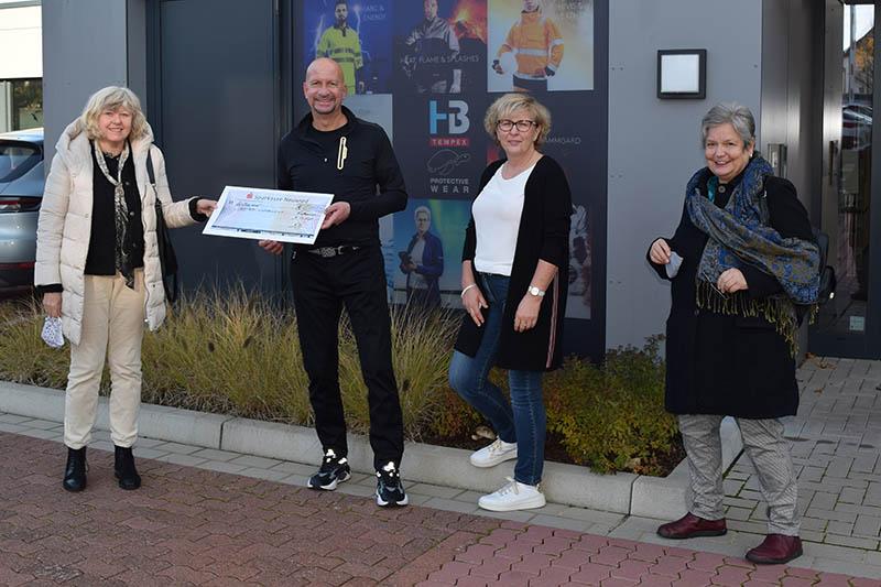 HB Protective Wear spendet 5.000 Euro an Trotzdem-Lichtblick