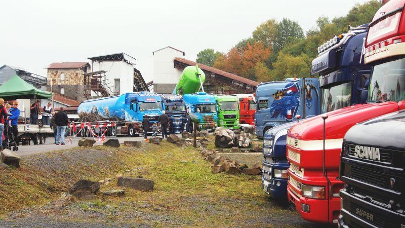 7. Trucker-Treffen im Stöffel-Park: Kommen und staunen